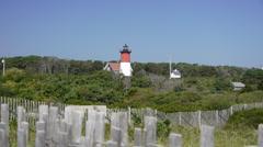 Wellfleet Lighthouse Cape Cod Stock Footage