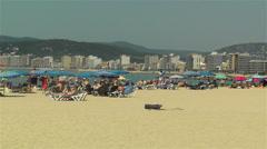Palamos Beach Costa Brava Spain 15 Stock Footage