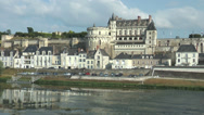 Stock Video Footage of Amboise chateau