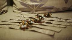 Bracelets for Wedding Stock Footage