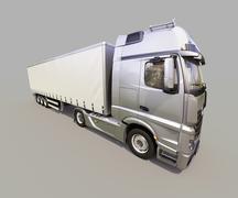 Semi-trailer truck Stock Photos