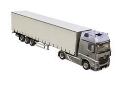Semi-trailer truck isolated Stock Photos