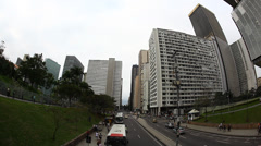 Stock Video Footage of Downtown, Centro, Rio De Janeiro, Brazil