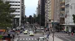 Downtown, Centro, Rio De Janeiro, Brazil - stock footage