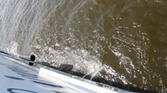 Shipboard of sailing ship Stock Footage