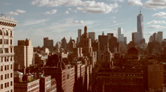Downtown NYC Stock Footage