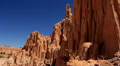 Cathedral Gorge Dolly 01 Cathedral Caves Nevada HD Footage