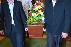 Illustration photos - funeral ceremony Stock Illustration