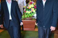Stock Illustration of illustration photos - funeral ceremony