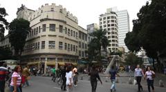 Downtown, Centro, Rio De Janeiro, Brazil Stock Footage