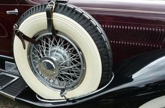 Old classic vintage car show Stock Photos