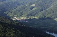 Stock Photo of Austria, Lower Austria, Wachau, Willendorf in der Wachau, View of village near