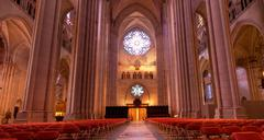 John the divine trinity church in New York - stock photo