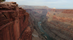 Toroweap grand canyon arizona timelapse Stock Footage