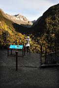 New zealand fiordland Stock Photos