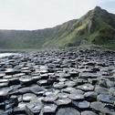 Stock Photo of Northern Ireland, Basalt columns on the coast