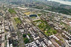Manhattan näkymä ylhäältä, New York City Kuvituskuvat