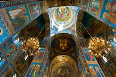 Church of Our Savior on the Spilled Blood, Saint Petersburg, Russia Stock Photos