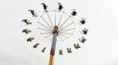 Swing ride Stock Footage