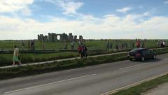 Stonehenge Stock Footage