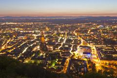 Deutschland, Baden-Wurttemberg, Black Forest, Freiburg im Breisgau, View of - stock photo