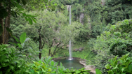 Stock Video Footage of 203 Katibawasan waterfalls, Camiguin island, Philippines