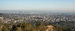 Los Angeles View - stock photo