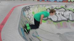 Inline skates Stock Footage