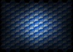 Hexagon background Stock Illustration
