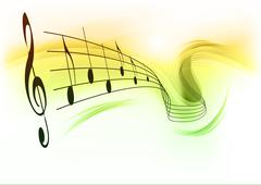 music background - stock illustration