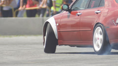 Drift car - stock footage