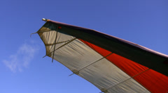 Hang glider wing Stock Footage