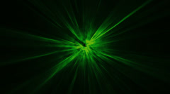 HD Light LOOP Green - stock footage
