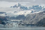 Stock Photo of mountain in glacier bay, alaska