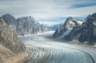 Stock Photo of glacier in denali (mt. mckinley)