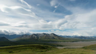 Stock Video Footage of Denali, Alaska (Mt. McKinley) Wide Timelapse