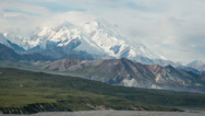 Stock Video Footage of Denali, Alaska (Mt McKinley) Timelapse