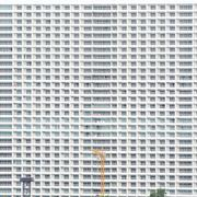 condominium backgrounds - stock photo