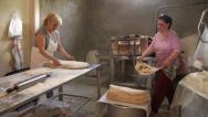 Stock Video Footage of Bakery in Armenia, in the former Soviet Union, South Caucasus