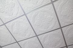 suspended ceiling - stock photo