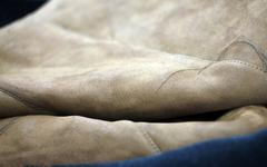 Leather Materials - stock photo