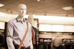 Smart casual mannequin Stock Photos
