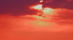Sunset time lapse Stock Footage