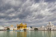 Stock Photo of India, Punjab, Amritsar, View of Golden Temple