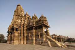 India, Madhya Pradesh, Kandariya Mahadeva Tempel at Khajuraho Stock Photos