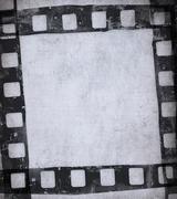 Grunge film background Stock Illustration
