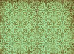 Green vintage wallpaper Stock Illustration