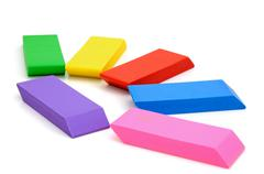 eraser - stock photo