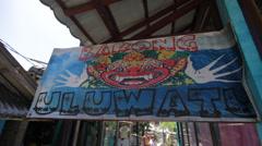 ULUWATU SURF AREA Stock Footage