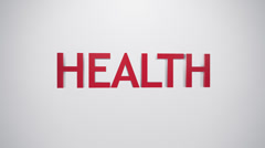 Health icon. Stock Footage